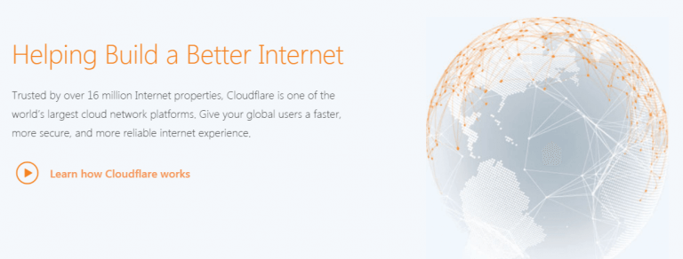 Cloudflare Website