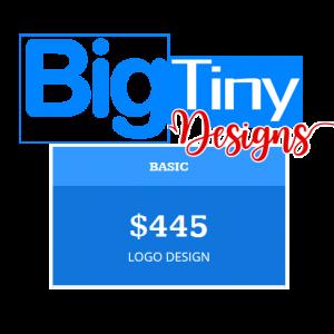BigTinyDesigns BASIC LOGO PACKAGE