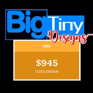 BigTinyDesigns PRO LOGO DESIGN PACKAGE
