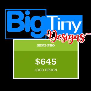BigTinyDesigns SEMI PRO LOGO PACKAGE