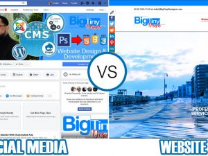 Is a website really needed in today's world of social media?