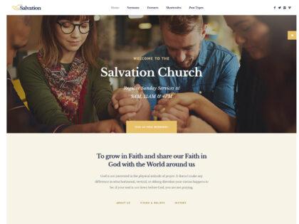 Salvation – Church & Religion Theme